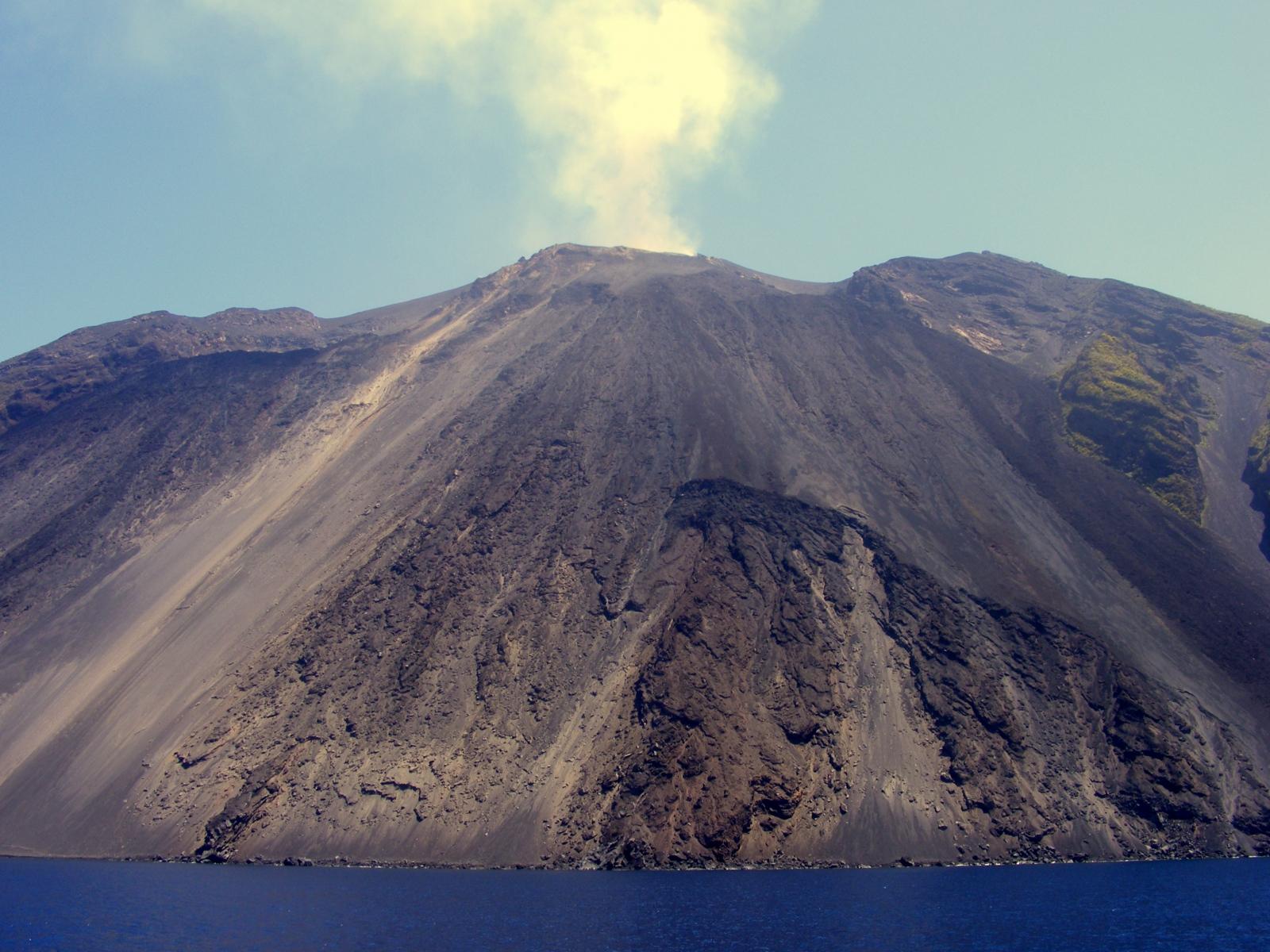 Stromboli vulkán