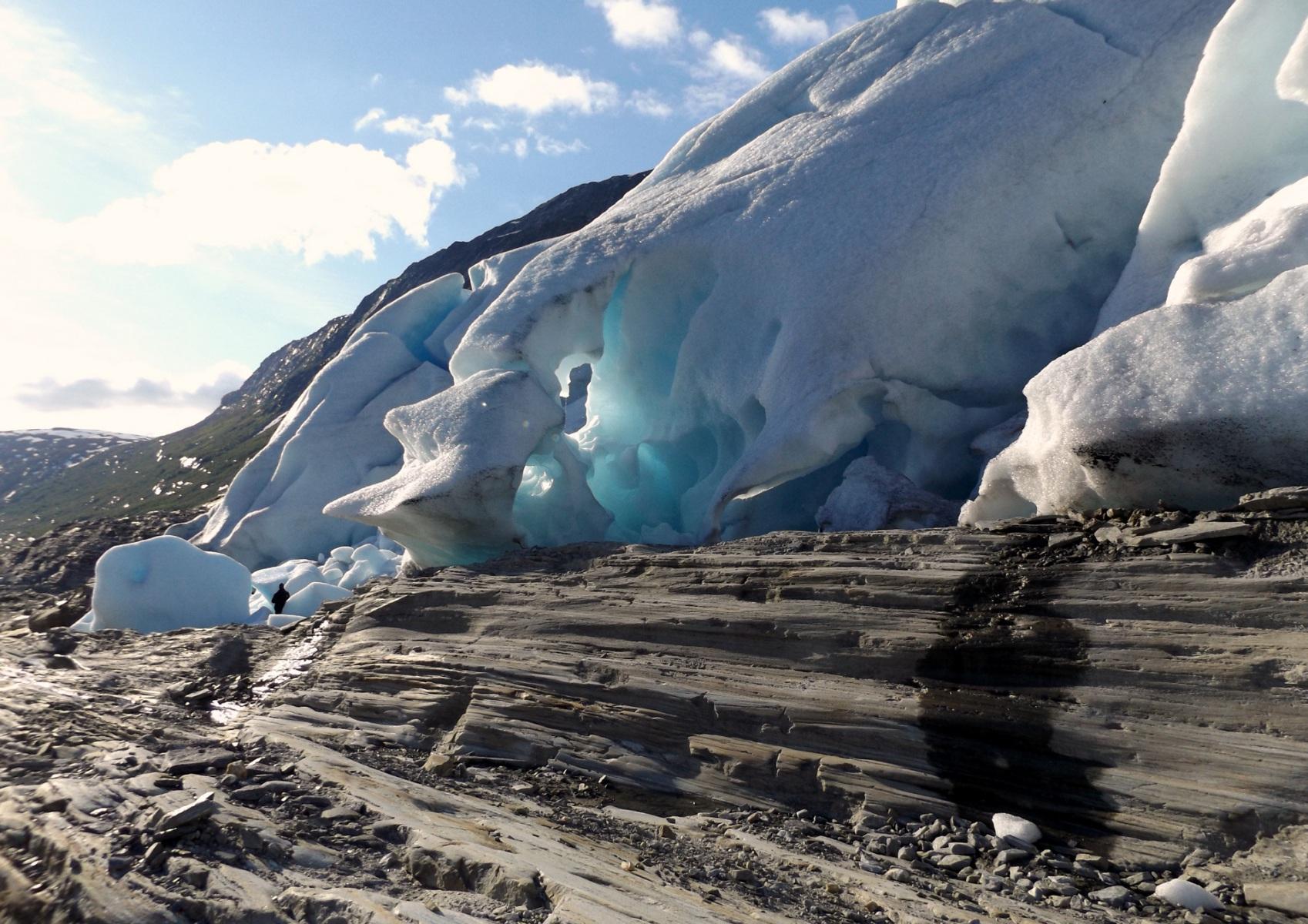 Svartisen-gleccser