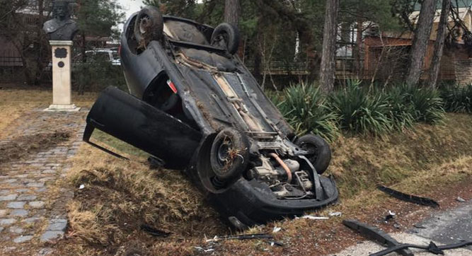 Két autó ütközött