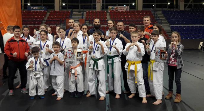 Dorogi sikerek a Nemzetközi Karate versenyen