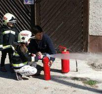 Gyerekzsivajtól volt hangos a tokodi tűzoltószertár