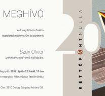 Kiállítás: Kettőpontnulla
