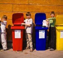 Szelektív hulladékgyűjtés májusban