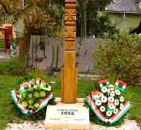 A rabtábor emlékhelyét avatják Csolnokon