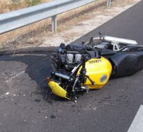 Motorbaleset Táton
