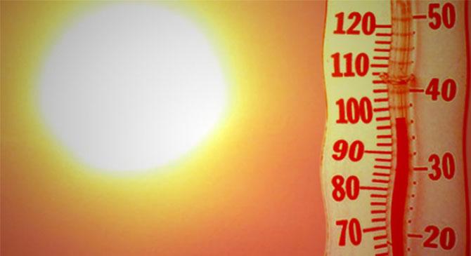 Hőség és erős UV-sugárzás várható