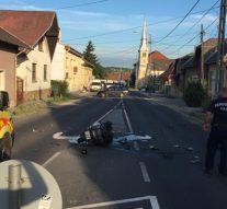 Halálos motorbaleset Piliscsabán
