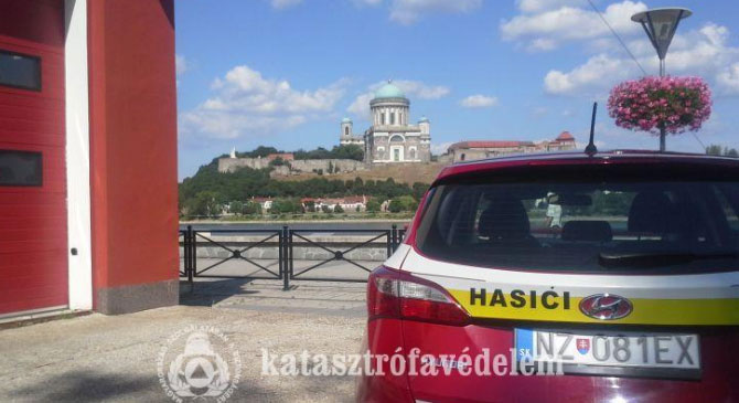 Megyénk tűzoltói Szlovákiában