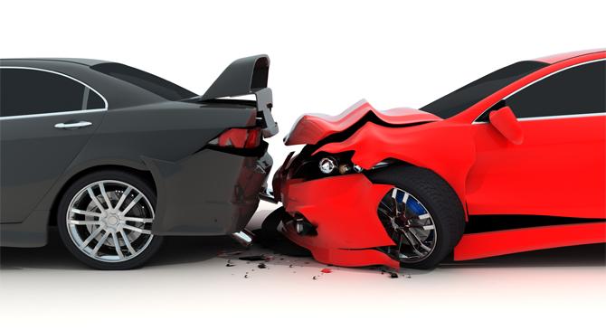 Autóbaleset Bajnán