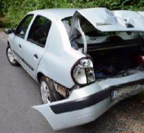 Autóbaleset Esztergomban