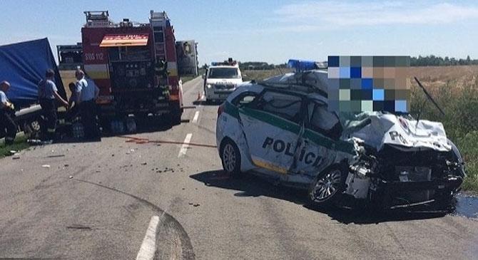 Két rendőr is meghalt a szlovákiai balesetben