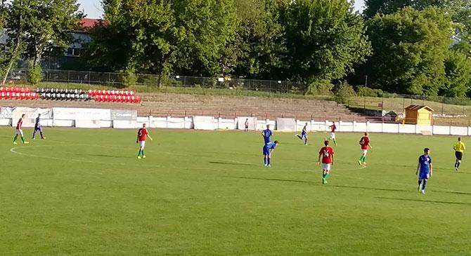 Ikszelt az U17-es válogatott a horvátok ellen Dorogon